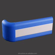 Plastic Hospital Handrails Protective Stair Rubber Handrails Covers