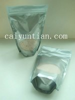 aluminum foiled polybag silver printed with zipper for Pharmaceutical Packaging