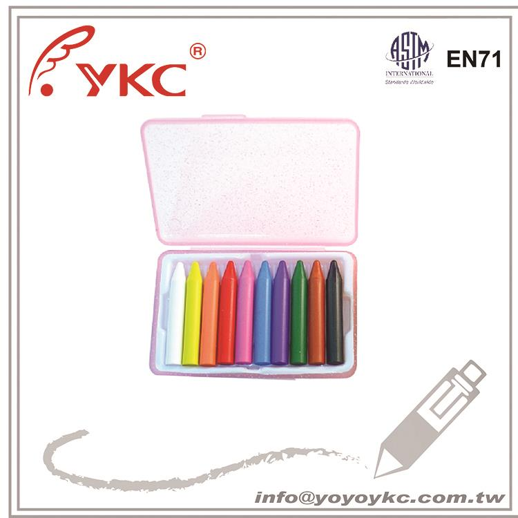 A1011 3d car crayon cheap crayons oil pastels with color box