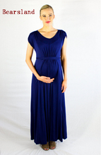 Elegant New design Fashion Maternity Nursing Dress For Pregnant Women