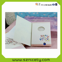 happy valentines day greeting cards with led light for invitation gifts, promotional, holiday