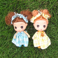 Cute wedding dolls/plastic girl doll/mini wedding doll