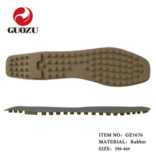 hot sale moccasin rubber shoe sole men driving sole
