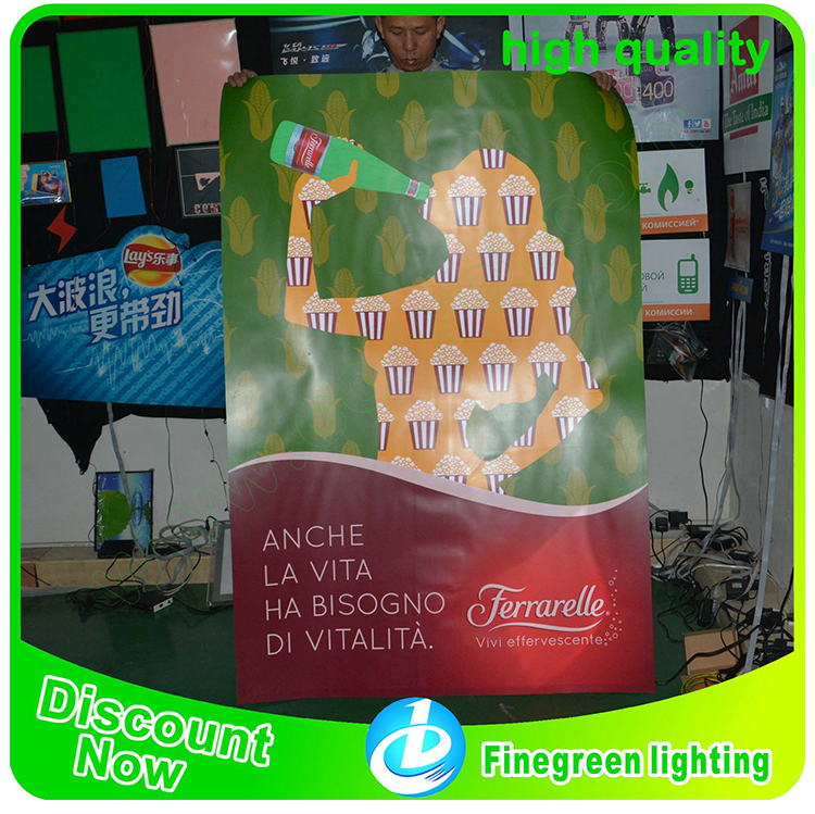 Advertising Sign High Brightness Led Flashing Animation EL Light Box