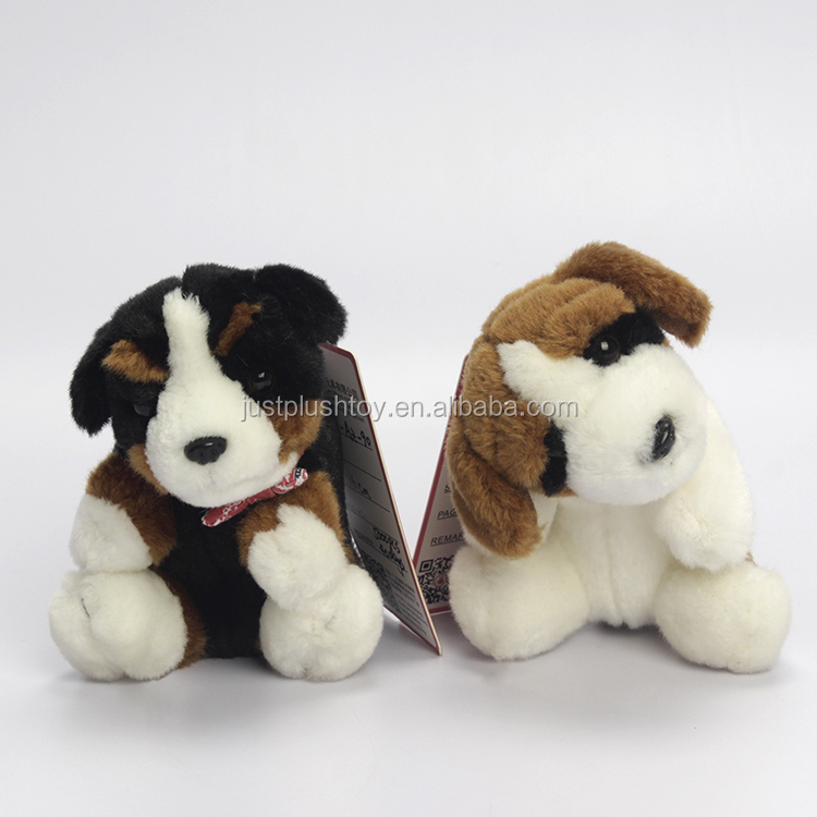 Oem Hot Sale 100% Pp Cotton Printing Soft Animal Toy Stuffed Plush Dogs