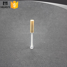 Clear empty round lip gloss ctube