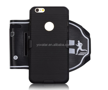 The New Outdoor Sport gym exercise running combo armband with detachable cover for iphone6/6s