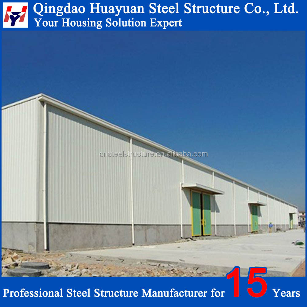 Low cost steel structure prefab warehouse building plans