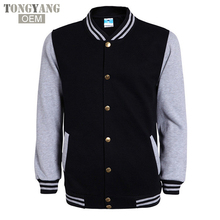 TONGYANG High School Baseball Jacket Mens Fashion Slim Cotton Jackets Casual College Jacket