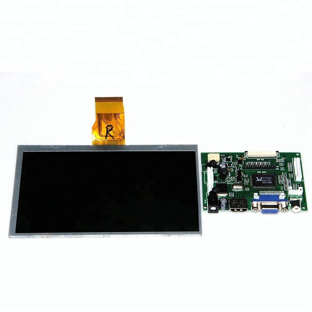 LCD Screen Display TFT Monitor 7 Inch LCD Driver Board With HDMI VGA Input