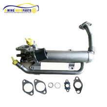 EGR Cooler Exhaust Gas For A5 05-06 VW Jetta Golf 2.0 TDI Skoda Seat Altea XL 1.9 TDI With Gaskets 03G131512AD