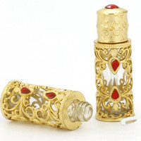 Wholesale 3ml Fancy Attar Dubai Perfume Oil Bottle