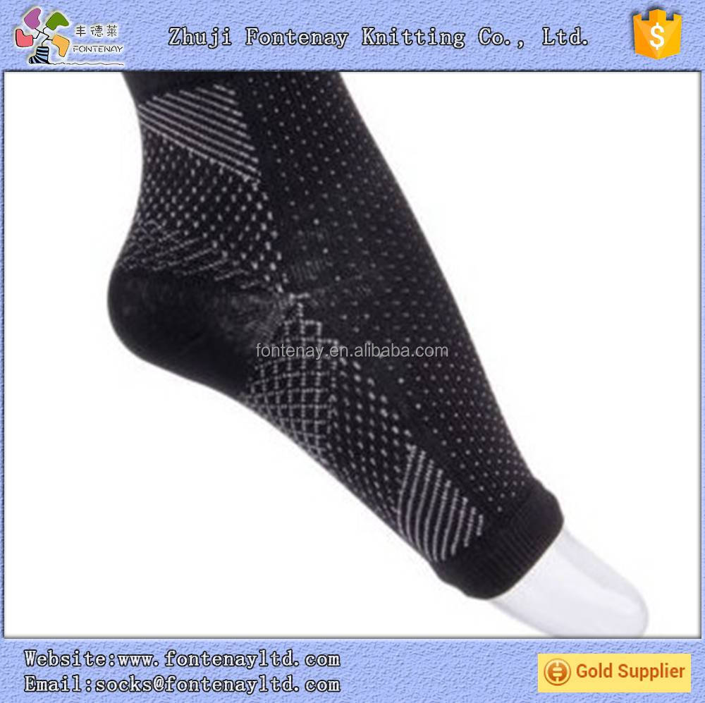Mens Womens Ankle medical 15-20mmhg Compression Foot Angel Sleeve sock