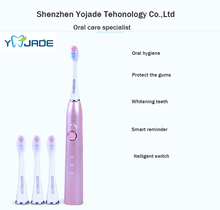 Factory Wholesale Rechargeable Electric Toothbrush/ Wireless Charge Ultrasonic Sonic Electric Tooth Brush