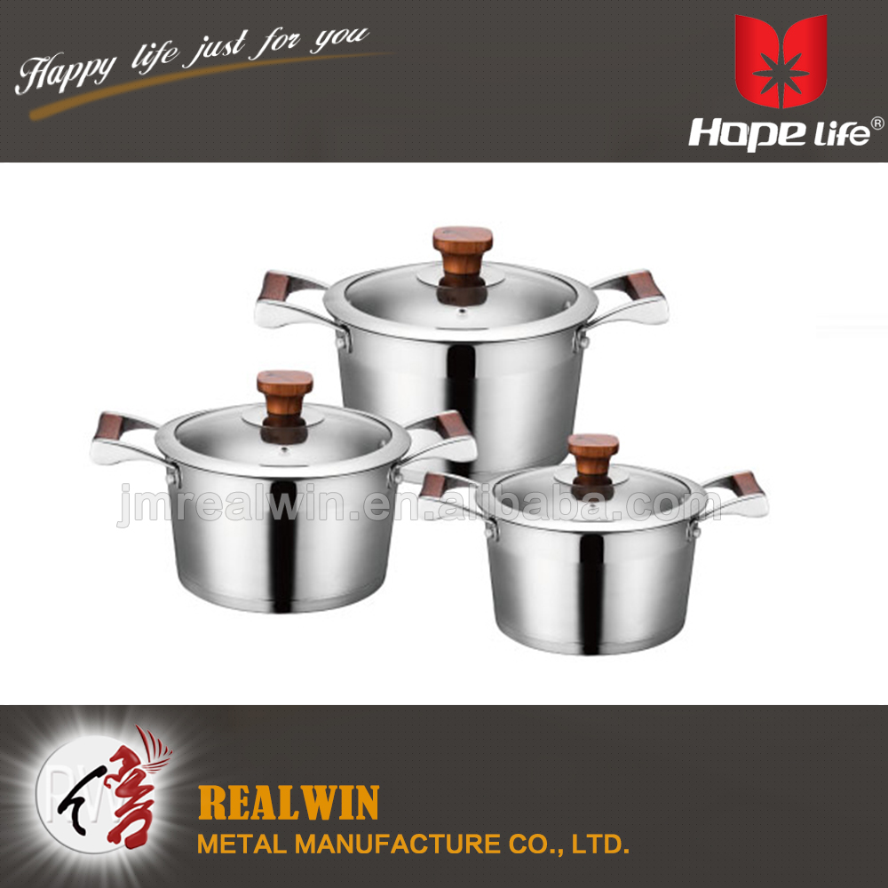 Stainless steel kitchen accessory cookware speed commercial cookware , metal kitchenware and cookware