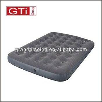 Twin size air mattress with built in foot pump