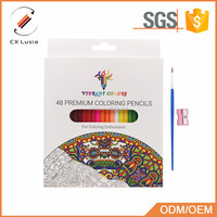 Art Colored Pencils Set of Assorted Colors, Oil Based & Water Color Pencil Set for Adult Coloring Book