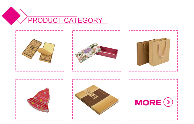 Fashion design custom size recycled cardboard food packaging lunch box