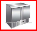 2 Door Refrigerated Salad Preparation Counter/ refrigerator