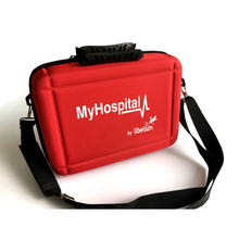 First Aid Kit Hard Shell Case Emergency Survival Kit Medical Supplies for Home, Outdoors, Travel, Camping