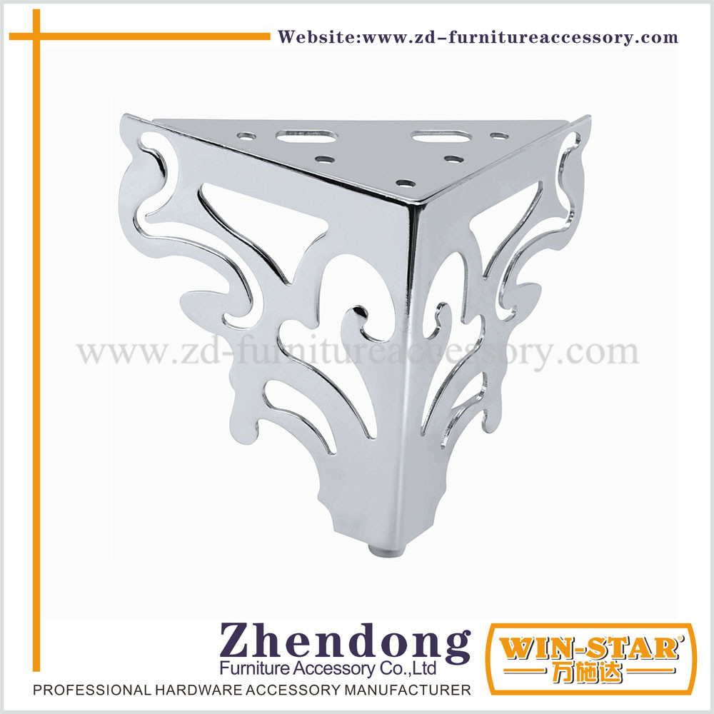 Top Selling metal decorative furniture legs ZD-D016
