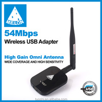 Melon N87 54Mbps Wifi Adapter;802.11g/b;Portable USB Wifi dongle;network card