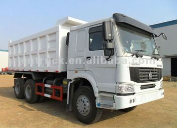 Sinotruk HOWO 6*4 dump truck best selling in china