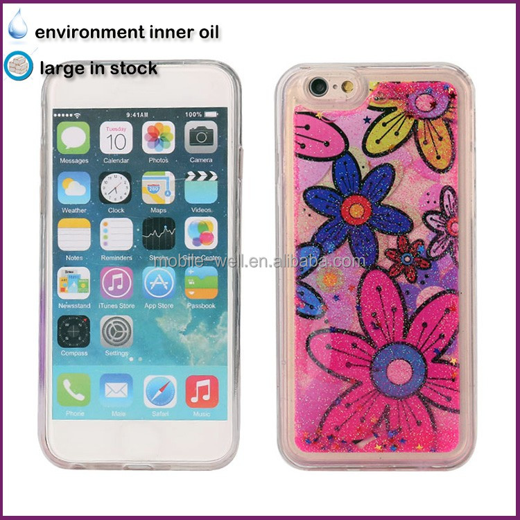 [Somostel] Ultra-thin gel transparent 5.5 inch environmental liquid bulk cell phone case for iphone 5 5c 5s 6 6s clear TPU case
