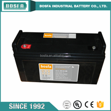 sealed agm deep cycle rechargeable sealed lead acid battery 12V 120AH DC12-120 for scooter