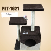 Top level best-selling cat furniture scratch post perch toys type large cat scratching posts