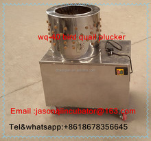 Rubber plucker finger wq-40 poultry plucking machine for bird quail