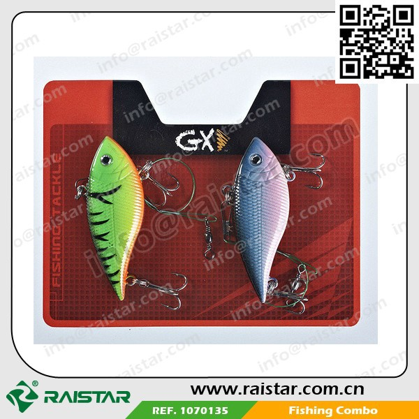 2015 New Year Big Discount Plastic Float Crappie Hard Fishing Lure Set