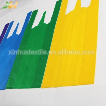 Customized cheap non woven vest shopping bags