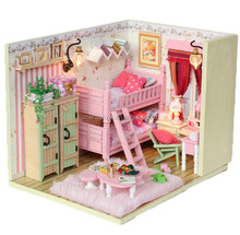 DIY miniature doll house, DIY wooden toy house, adult wooden doll house
