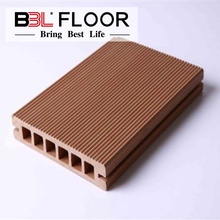 wood plastic composite decking flooring