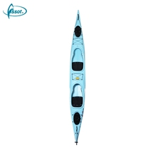 Cheap paddle double 2 person sale sail racing feelfree fishing plastic sea kayak wholesale