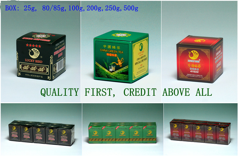 CHUNMEE GREEN TEA 9371 AFRICA MARKET REATAIL/SALE PACKAGE