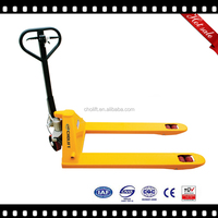 2500kgs Ningbo China hand pallet truck with brake model SBB