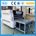three color printing slotting die cutting