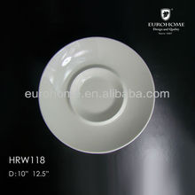 hotel durable dinnerware tray dish saucer