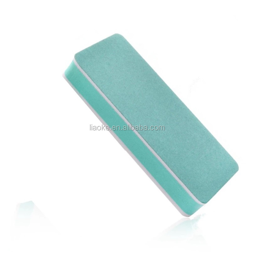 Professional polishing nail tools 2 side Nail file Buffer Block fingernail Nail buffer block for shiny nails