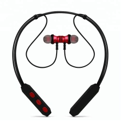 headset handsfree neckband sport running mic bluetooth stereo wireless earphone