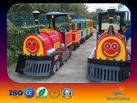 Popular 14 persons adults and children train toys