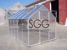 High quality 6mm glass extra clear solar glass curtain wall