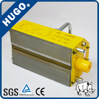 1500kg/1.5t manual type permanent lifting magnet/hand magnetic lifter