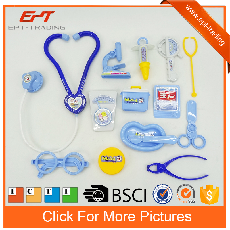 Pretend play medical equipment toy doctor kit