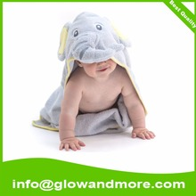 Natural Cotton Baby Towel Hooded