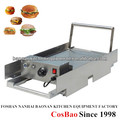 Tabletop Stainless Steel Electric Hamburger Grill Machine