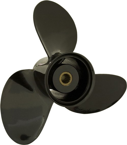 [KITA] Aluminum propeller for Johnson/Evinrude outboard engine