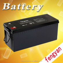 Best quality AGM sealed lead acid deep cycle solar battery 12V 200AH